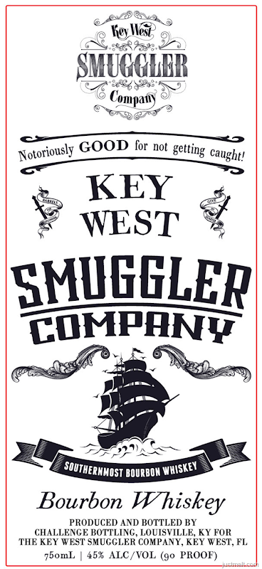 Key West Smuggler Bourbon Whiskey