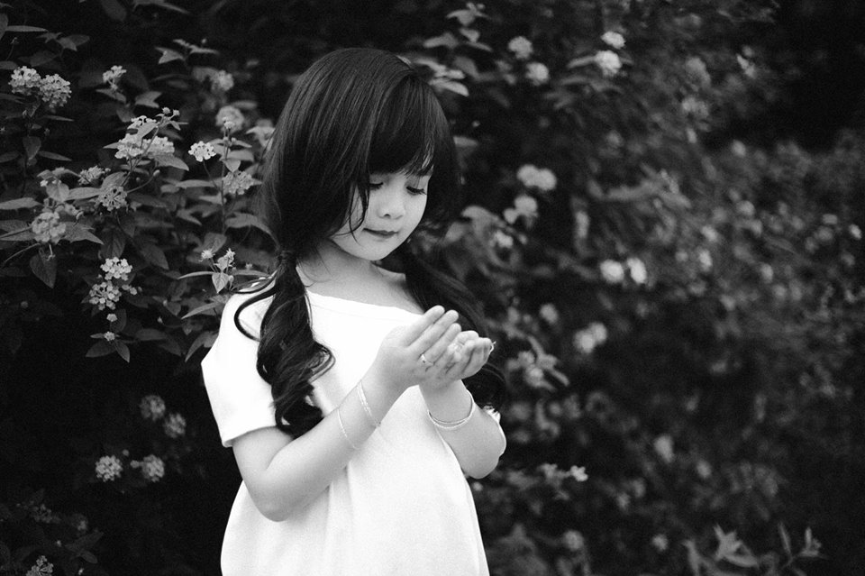 Em bé hot girl Tuyên Quang