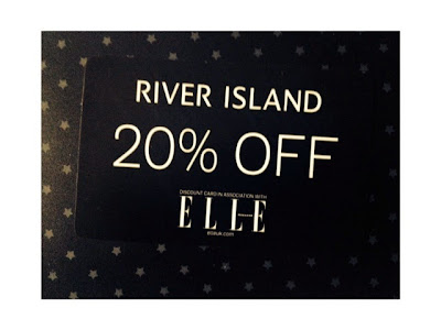 Off River Island With Elle Magazine