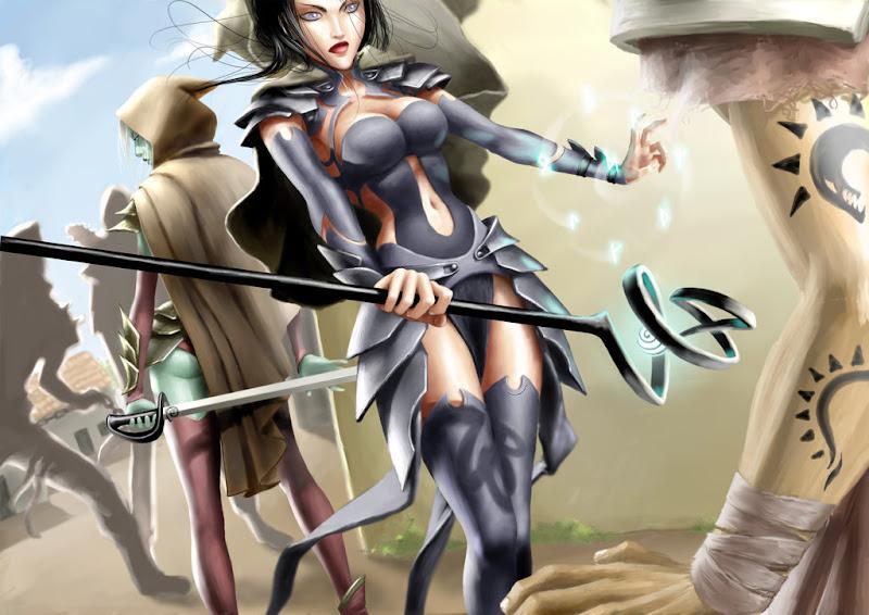 Charming Baroness Smile, Dark Goddess