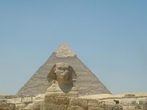 Seeing the Sphinx. Jill Dobbe: #TeachAbroadBecause ...it's the best of all lifestyles!