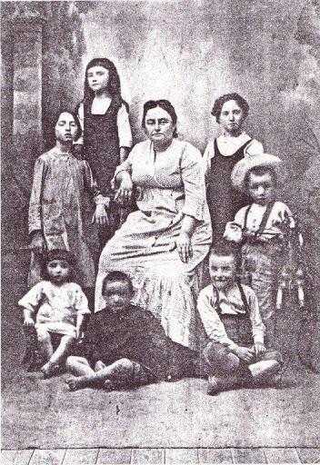 Maria Giudice e 7 figli