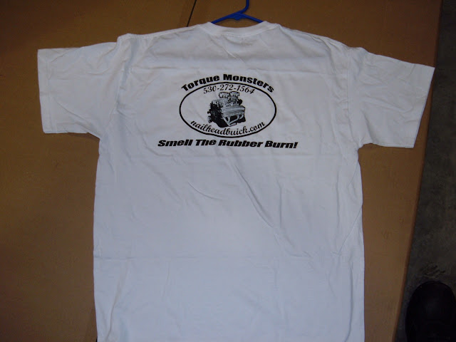 New T shirts, SMELL THE RUBBER BURN! 17.00 plus 7.00 S&H Contact Lee directly  562-833-2430