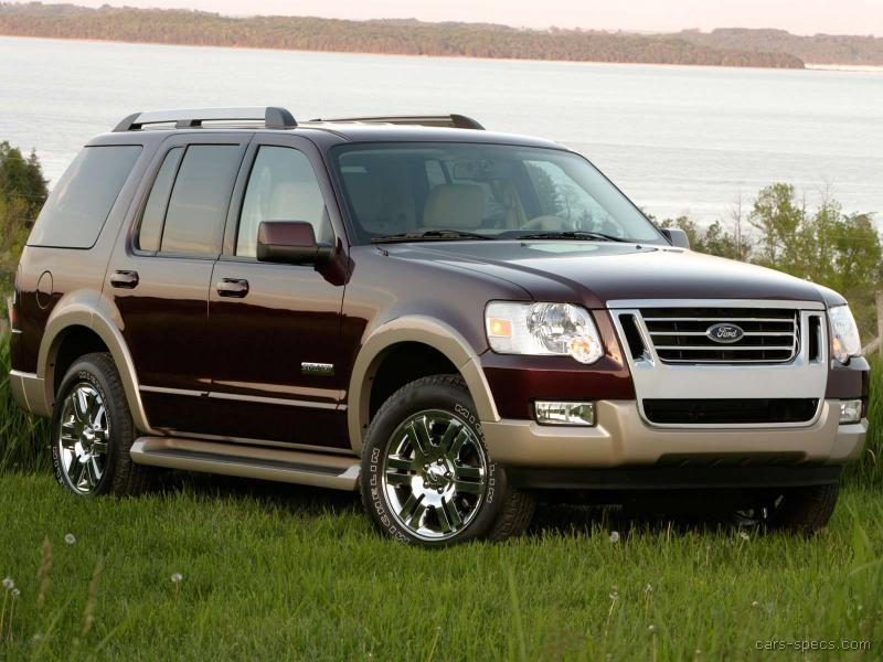 2009 ford explorer suv specifications pictures prices. Black Bedroom Furniture Sets. Home Design Ideas