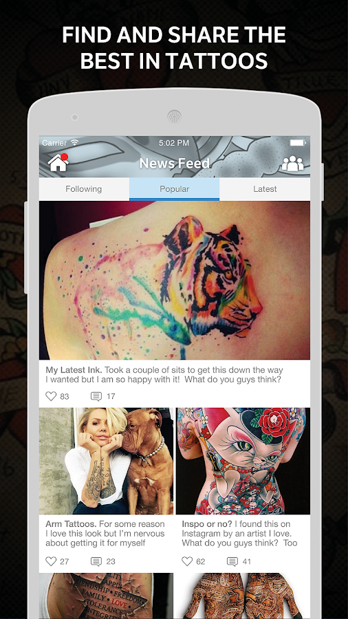 Tattoo Amino for Body Art- screenshot