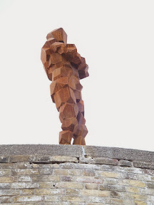 The Anthony Gormley statue