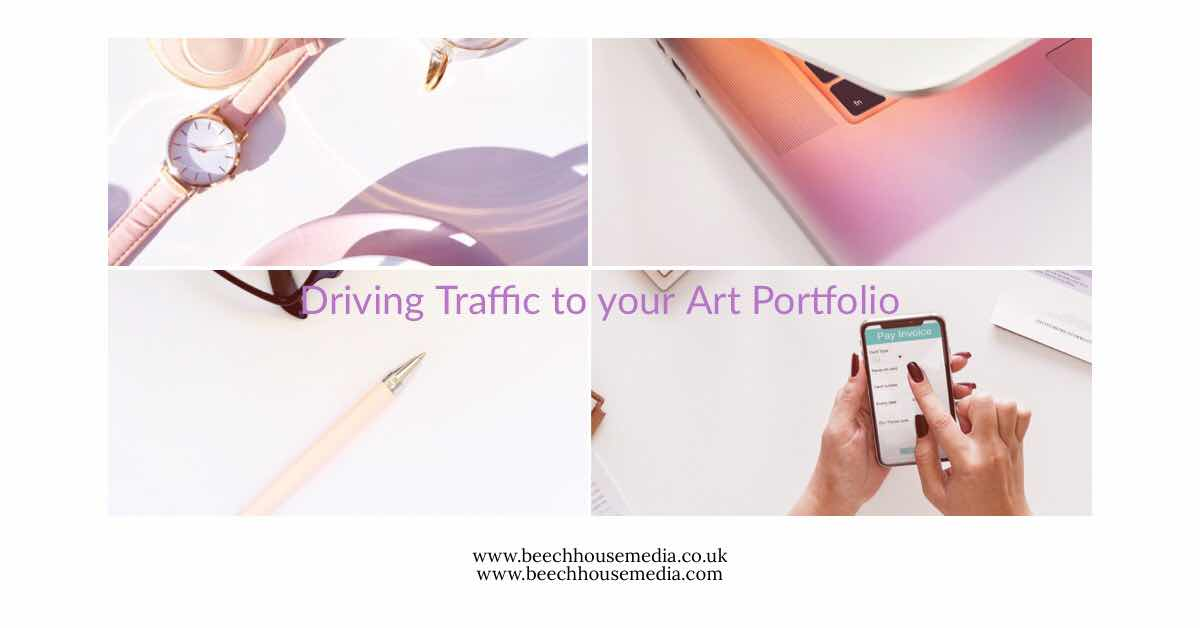 driving Traffic to your art portfolio SEO