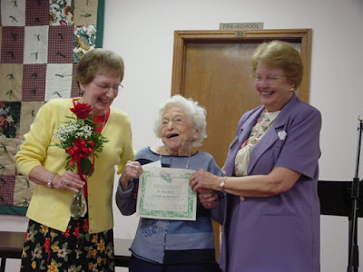 Jo Hackett's 100 Birthday Celebration October 2004
