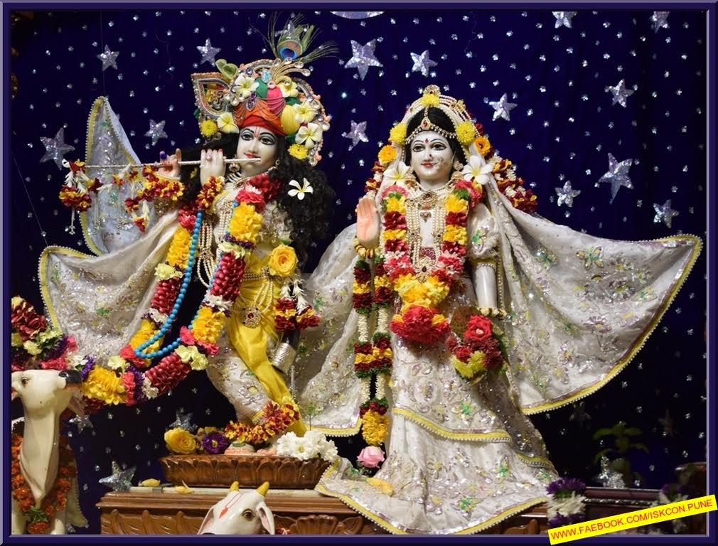 ISKCON Pune Camp Deity Darshan 11 Jan 2017 (2)
