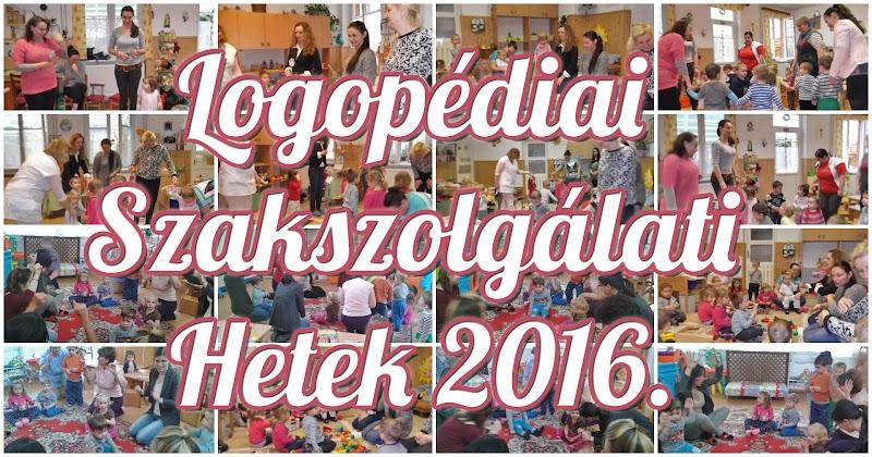 Kaposvár Logopédiai Szakszolgálati Hetek 2016