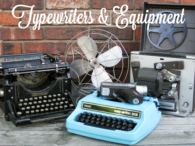 Typewriters & equipment for rent from Momentarily Yours Events at www.momentarilyyours.com