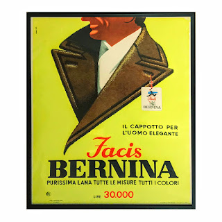 Armando Testi Large Facis Bernina Framed Poster