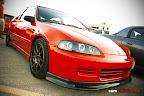Red EG Civic
