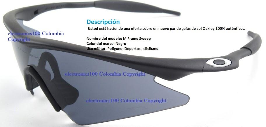 accesorios gafas oakley colombia