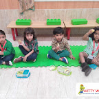 Green Day Celebration by Nursery section at Witty World Bangur Nagar (2018-2019)