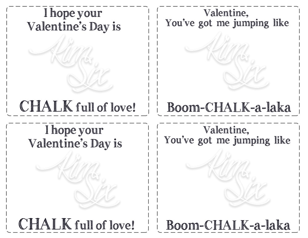 Valentine Printable Watermarked