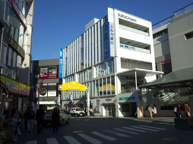 日吉駅西口駅前のロータリー