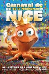 Carnaval de Nice affiche 2011