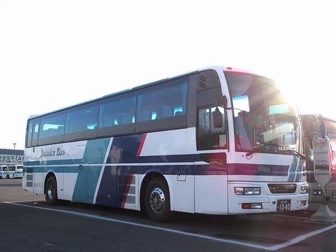 道北バス「サンライズ旭川釧路号」 1040 道北バス本社にて