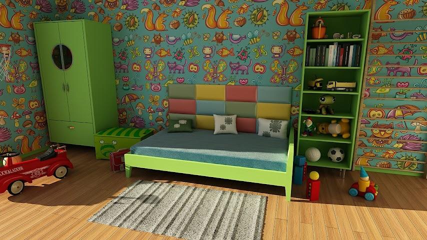Habitación recogida y limpia
