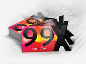 Photo: Business Card for 99X Night Club