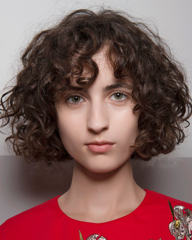 15 Most Outstanding Curly Hairstyles With Bangs 2019 ...
