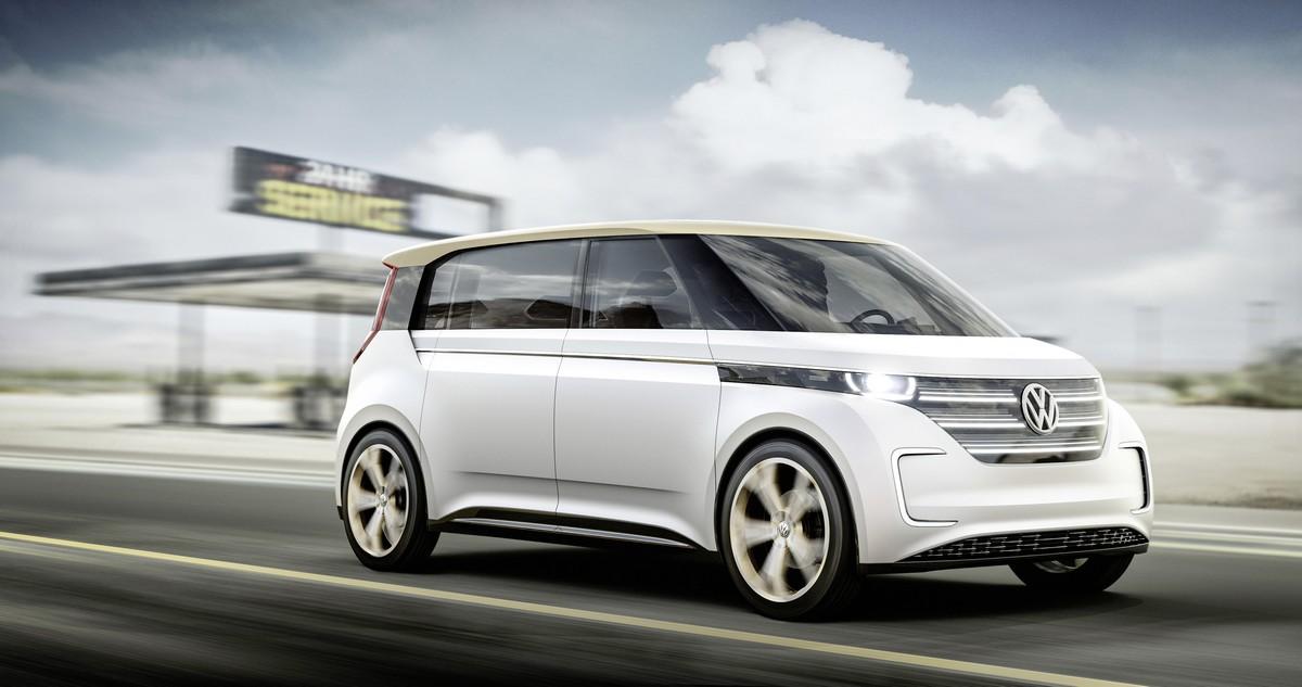 Volkswagen - BUDD-e Concept