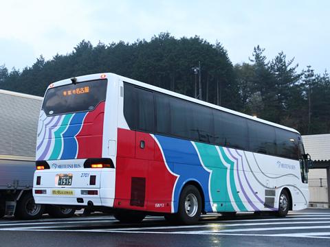 名鉄バス「青葉号」 2701 恵那峡SAにて その3
