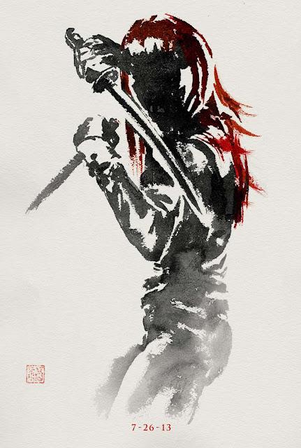 The Wolverine Yukio Eastern Poster