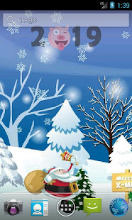 Funny Christmas Free Live Wallpaper 2