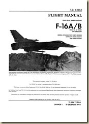 F-16AB Fighting Falcon Flight Manual (Early)_01