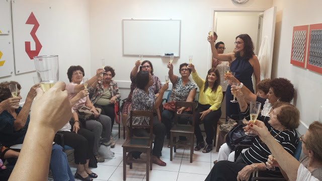 "Comemoracao pela ""Sala Maria Augusta"" - Abril 2015"