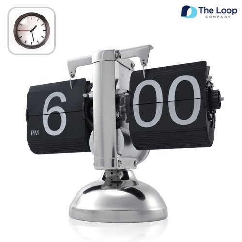 Cool: Steampunky, Retro, Flip Clock stripped to its essentials