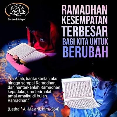 Buat baik sebelum bulan Ramadan
