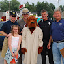 Detective Turkovich, McGruff, NYSP, K9 Officer Hanley, Lt. Cotter @ National Night Out in West Seneca 2009