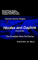 Cherish Desire Singles: Nicolas And Daphne (The Complete Nine Part Series), Daphne, Nicolas, Max, erotica, Print Edition