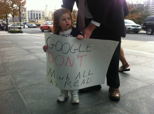 google reader imagini protest
