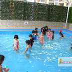 Water Play Activity for Nursery Morning Section, Witty World, Chikoowadi (2017-18)