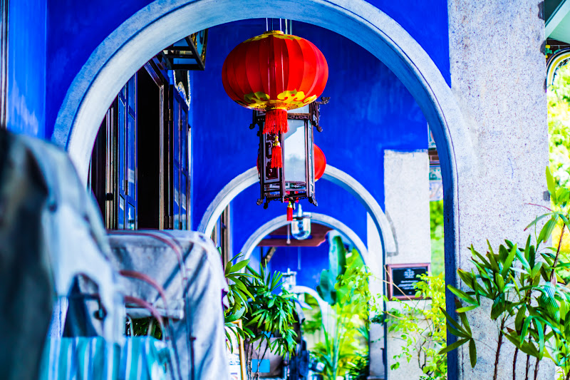 Penang Cheong Fatt Tze Mansion (Blue Mansion) rickshaw4