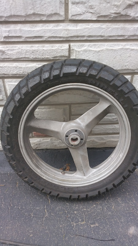 PVM Wheels for the K100 20160207_134258