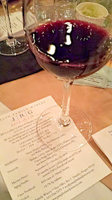 A taste of Taste of the Nation- a taste of the JRG 2010 Red wine from Pamplin Family Winery