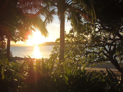 qualia pebble beach sunset