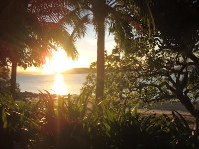 qualia pebble beach sunset