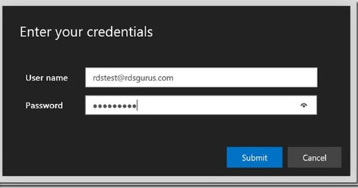 The Microsoft Platform: New logon experience for RDS HTML5