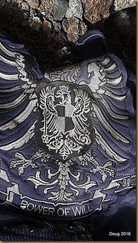 Jacket slogan