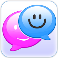 Cute Pink Doodle SMS viewer