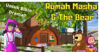 ID Rumah Masha And The Bear Di Sakura School Simulator Dapatkan Disini