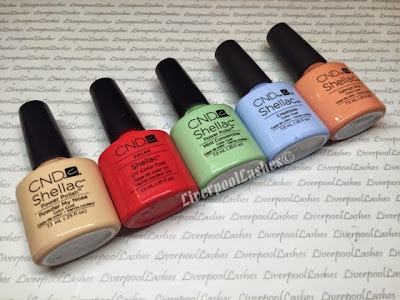 liverpoollashes sheer shellac shades you tuber blogger north west