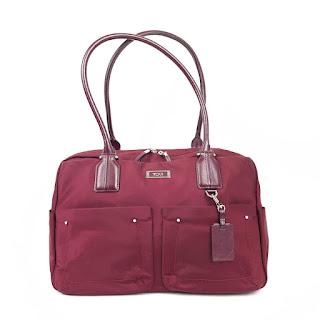 Tumi Cordovan Nylon Bag