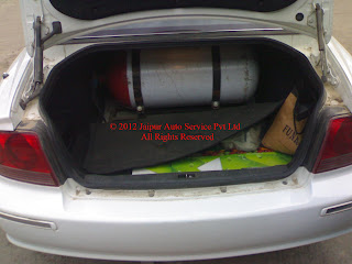 CNG KIT SEQUENTIAL IN SONATA 2.7 V6